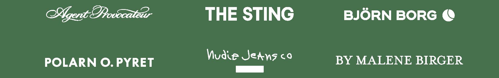 Logos demo page white